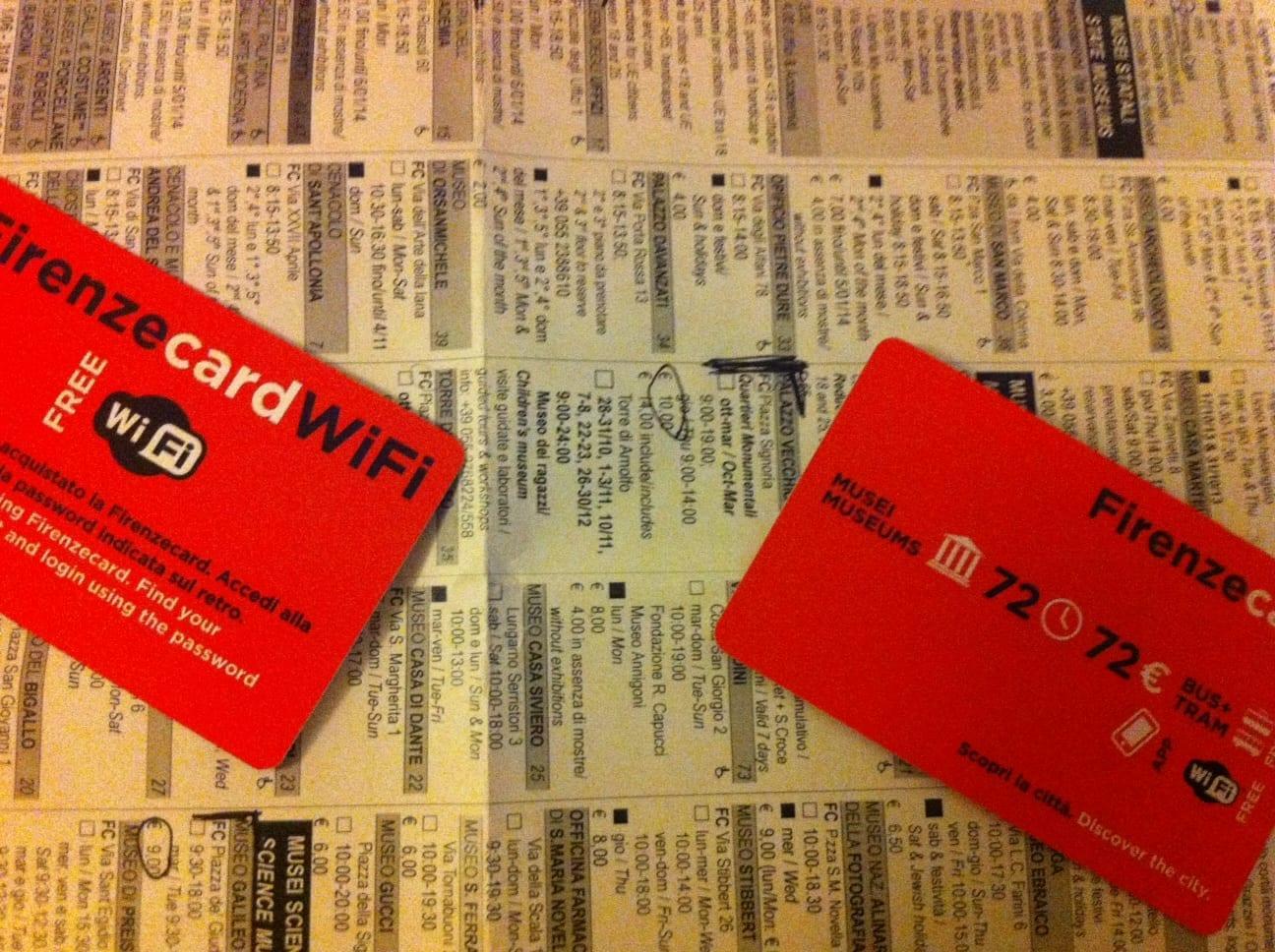 100% Florenz – die FirenzeCard