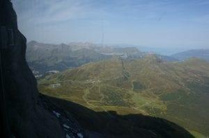 Blick aus der Eiger-Nordwand