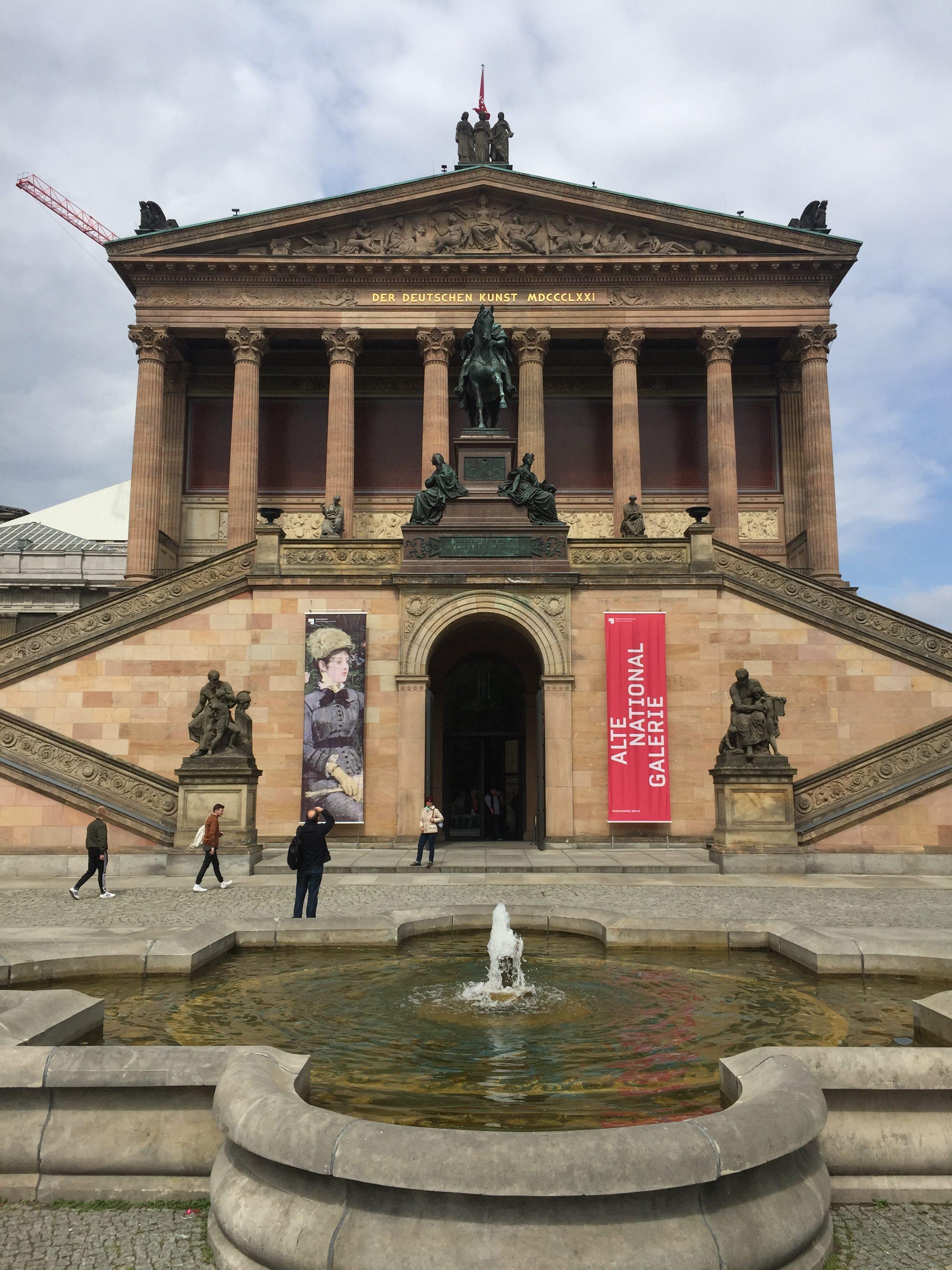 Museumsinsel Berlin Alte Nationalgalerie Einzigartig Reisen