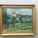 Paul Cézanne - Mühle an der Couleuvre bei Pontoise