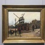 Vincent van Gogh -Moulin de la Galette auf dem Monmartre in Paris