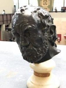 Auguste Rodin - Der Mann mit der gebrochenen Nase