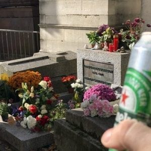 Grave of Jim Morrison (The Doors)