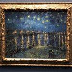 Vincent van Gogh - Sternennacht über der Rhone