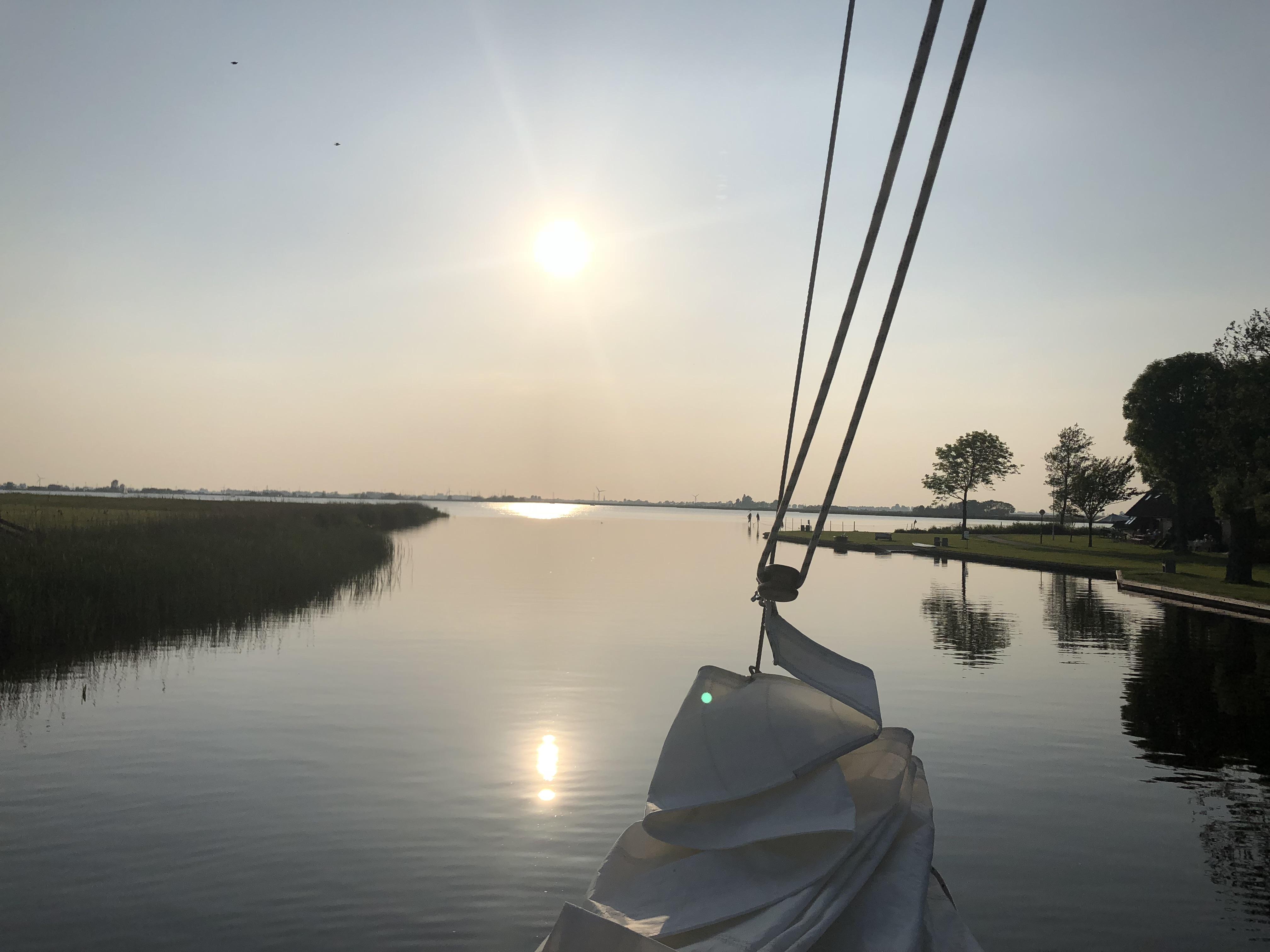 Auslaufen aus Gaastmeer