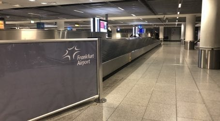 Ein Alptraum: Gepäck-Abfertigung am Flughafen Frankfurt