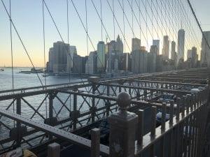Lower Manhattan Brooklyn Bridge