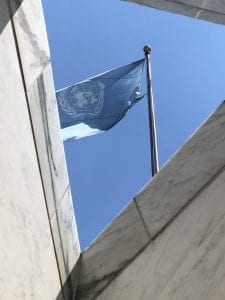 UN-Headquarter Flag