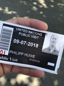 UN-Headquarter Pass