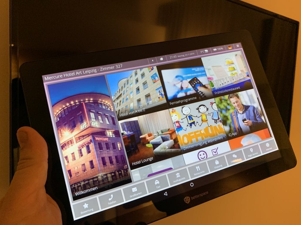 Mercure Leipzig Art Tablet