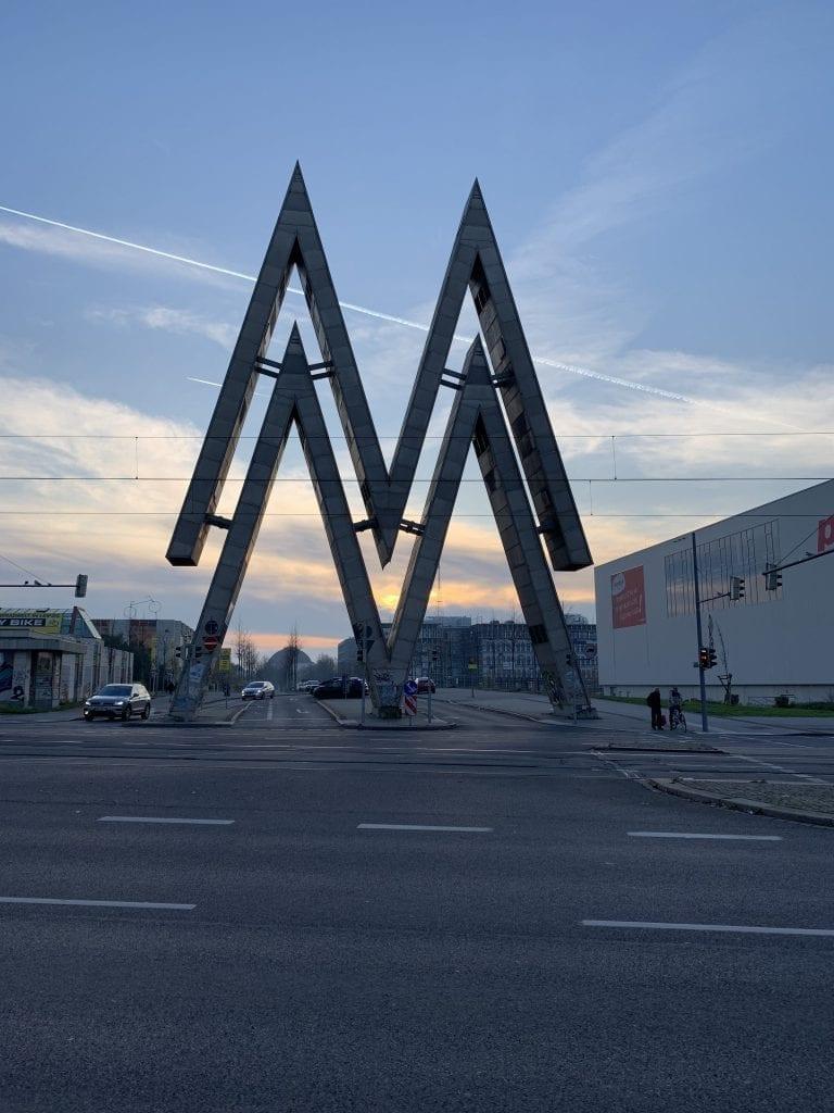 Leipzig Eingang Alte Messe