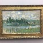 Claude Monet - Ansicht von Vétheuil-sur-Seine
