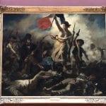 Eugène Delacroix - Die Freiheit führt das Volk - Louvre