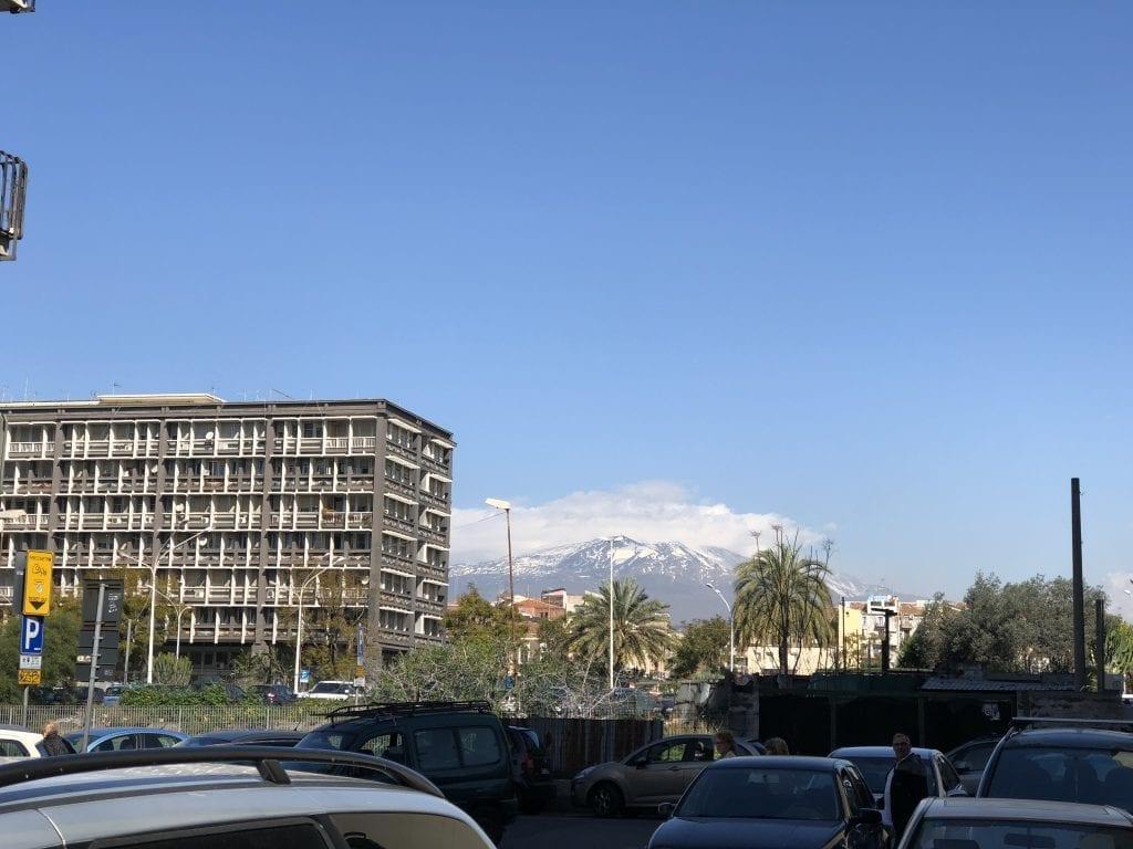 Etna from Catania