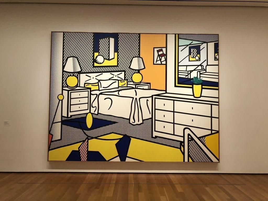 MoMA_Roy-Lichtenstein-Interiour-with-mobile