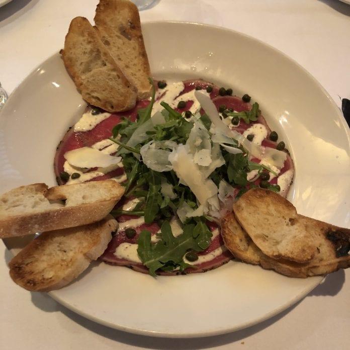 New_York_DelFriscos-Steakhouse-Carpaccio