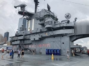 USS Intrepid Insel