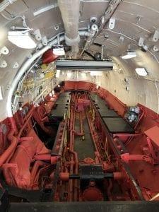 USS_Intrepid_Museum_USS_Growler_Missle-Hangar