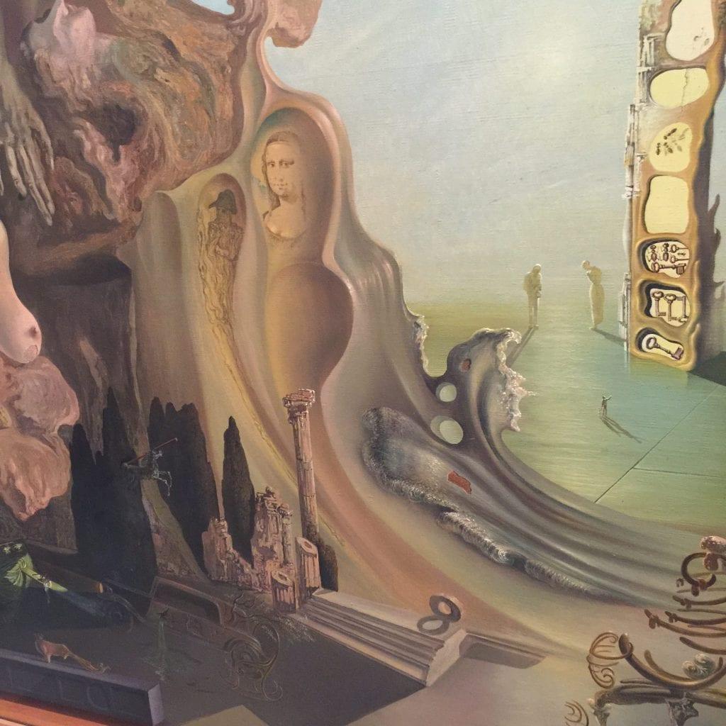 Salvador Dali - La mémoire de la femme-enfant