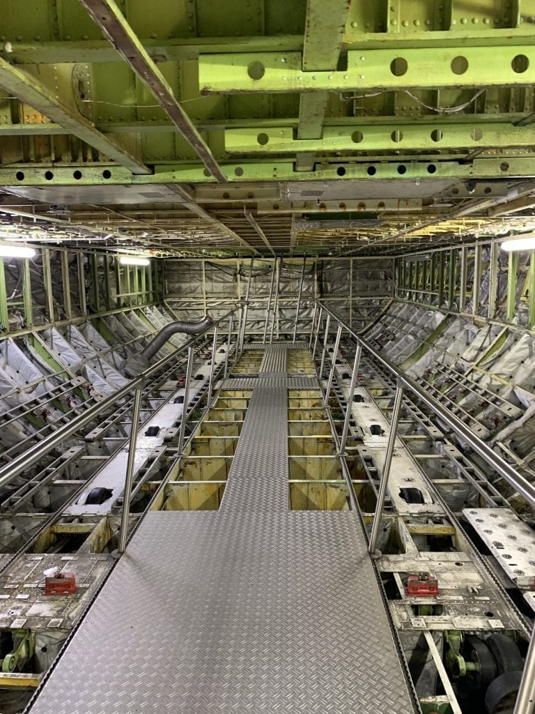 Technik Museum Speyer - Boeing 747 Rumpf