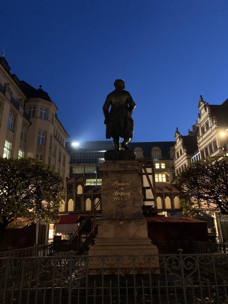 Goethe Student in Leipzig