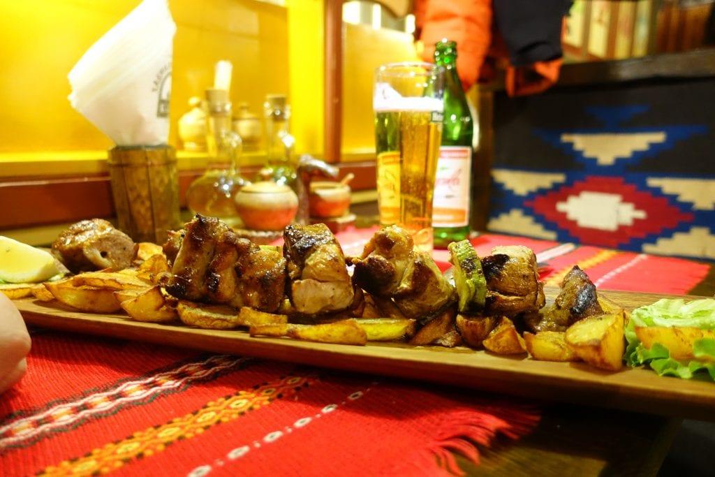 Sofia Hadjidragana Tavern Mixed Meat