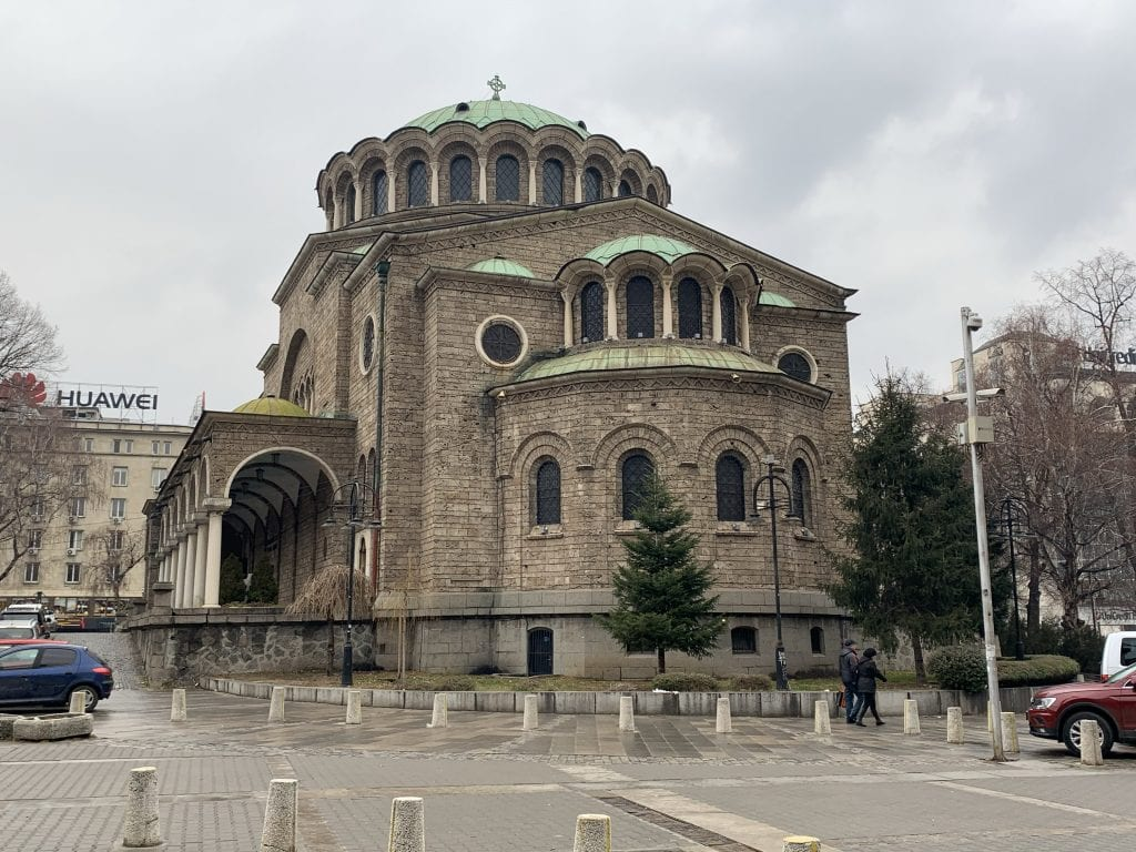 Sofia-Kathedrale Sweta Nedelja