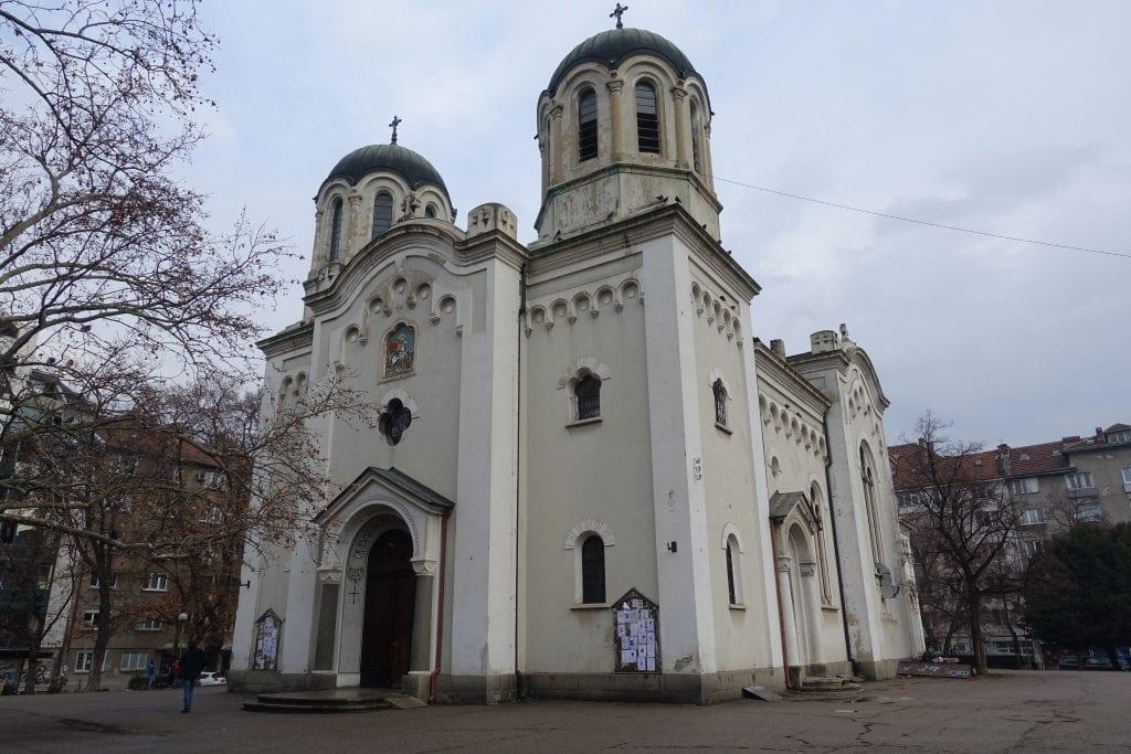 Sofia Temple Sveti Vmchk. Georgi Pobedonosets
