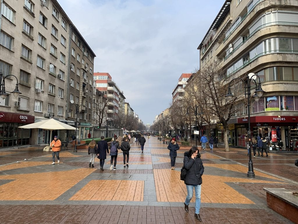 Sofia-Vitosha-Boulevard