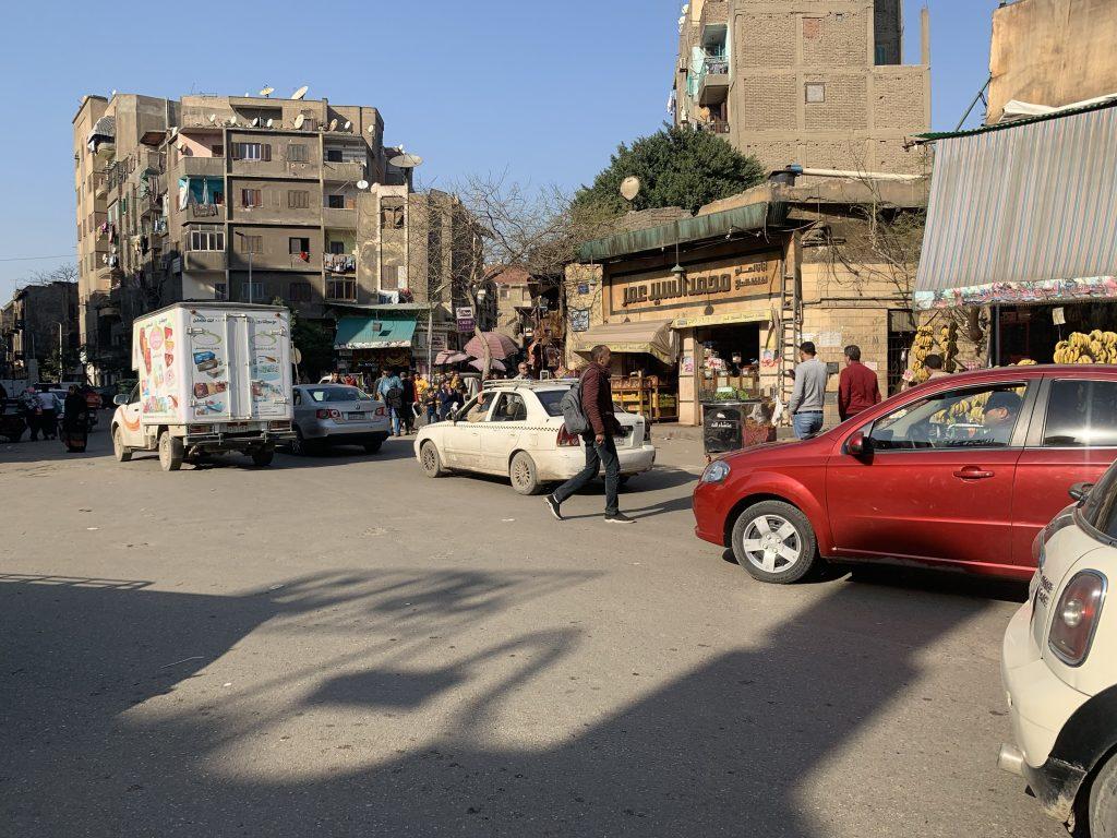 cairo street scenery