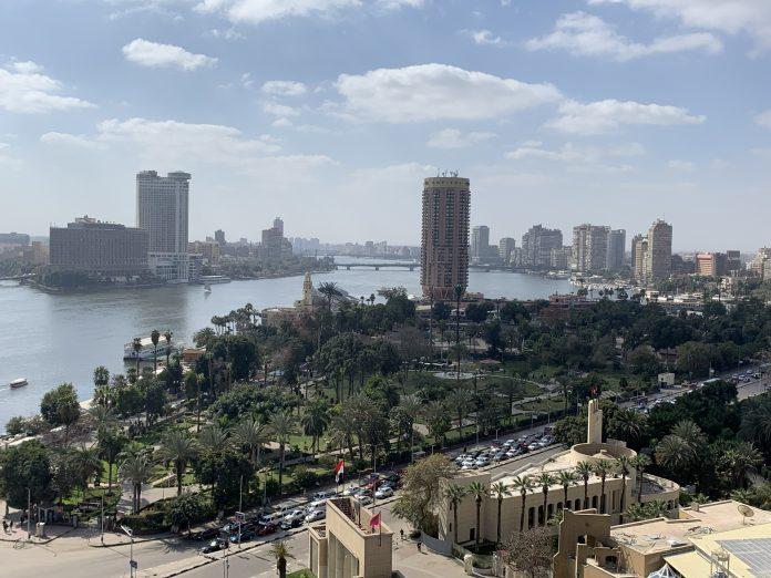 Sofitel Cairo - View from Novotel Cairo
