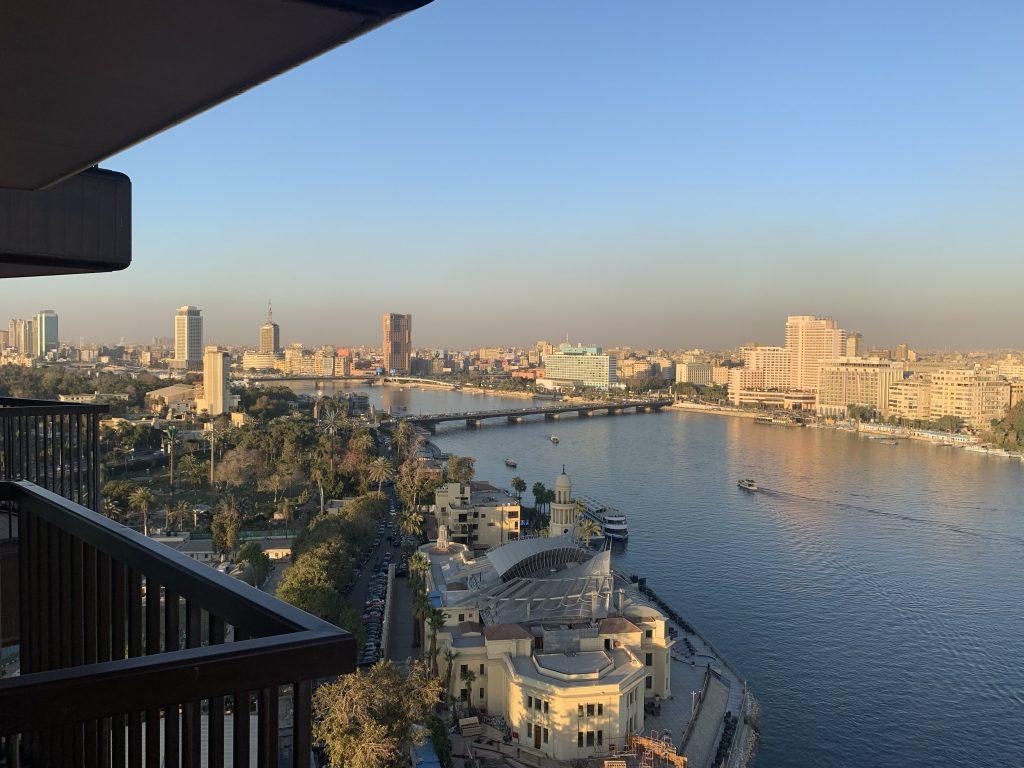 Sofitel Cairo View from Balcony