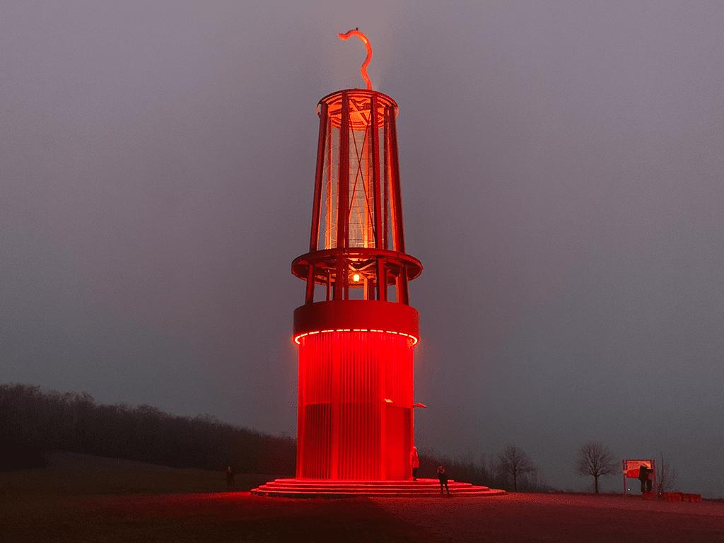 Geleucht auf der Halde Rheinpreussen