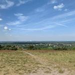 Aussicht von der Halde Haniel Richtung Süden