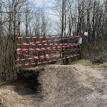 Downhill-Strecke auf der Halde Norddeutschland